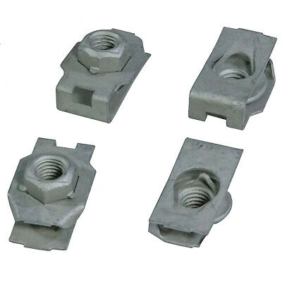 FORD OEM Front Bumper-Stud Plate Nut W716545S442 PACK OF 4