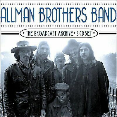 The Allman Brothers Band : The Broadcast Archive CD (2017) Brand New and Sealed