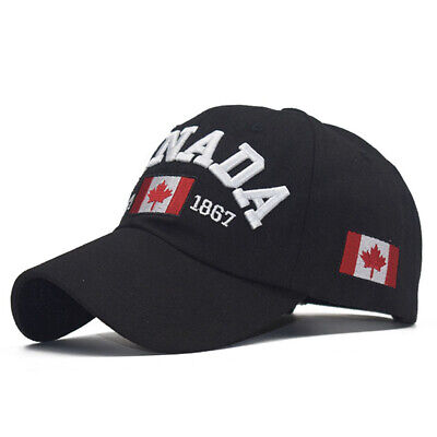 Canada Letter Embroidery Baseball Caps Snapback Hat for Men Women Leisure Hats