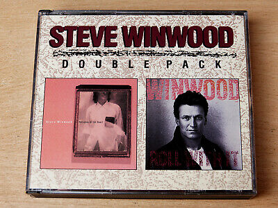 Steve Winwood/Roll With It/Refugees Of The Heart/1988 2x CD Album/Fat Box