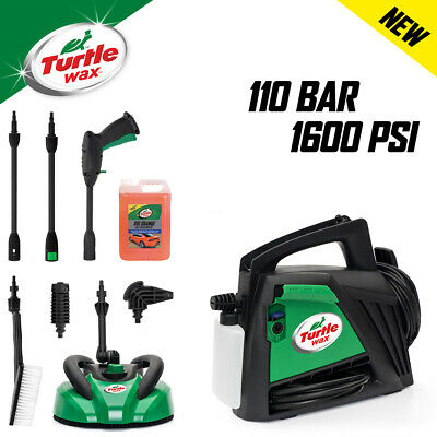 Turtle Wax TW110-CH Car and Home Pressure Washer Kit