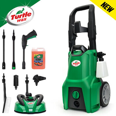 Turtle Wax TW120-CH Car and Home Pressure Washer Kit