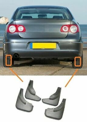 Vw Passat B6 2005-2010 Mud Flaps Mudguards Complete Set Of 4 Pieces High Quality