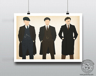 PEAKY BLINDERS - Shelby Bros Minimalist Music Poster Posteritty Minimal Print