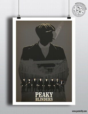 PEAKY BLINDERS - Small Heath Shelby Minimalist Poster Posteritty Minimal Print