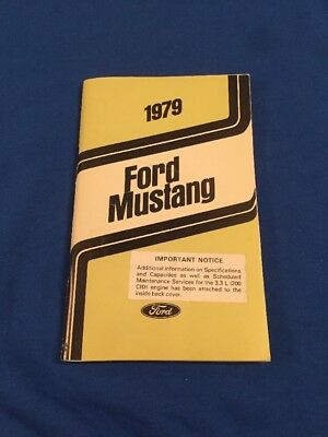 1966 Ford Mustang Owners Manual User Guide Reference Operator Book Fuses Fluids