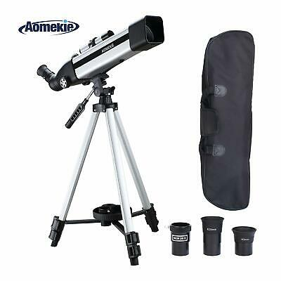 Aomekie Telescope for Adults Kids Astronomy Beginners 500mm Focal Length 60mm...
