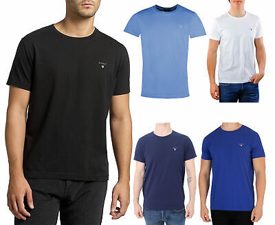 buy popular e8131 75216 Gant L Original T-Shirt Hommes S M L XL Noir