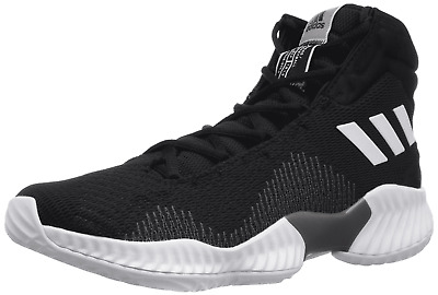6543e91d3cba8 Mens Adidas Pro Bounce 2018 Black Basketball Athletic Shoes AH2658 Size 11.5