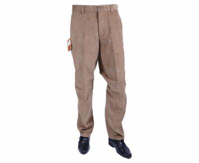 FARAH CLASSIC FABB-5004 Mens Corduroy Trousers Flat Front Straight Wale Cord ...