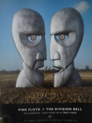 Pink Floyd - The Division Bell - Mini Press Poster