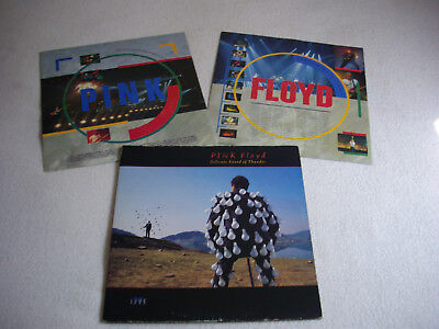 Pink Floyd ‎– Delicate Sound Of Thunder Label: EMI ‎– EQ 5009 , 2 × LP,1st UK