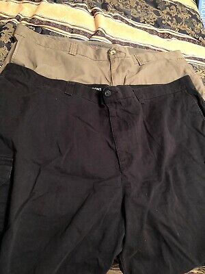 4225369dd8 Harbor Bay Continuous Comfort Waistband Men's Olive Cargo Shorts Size 48R