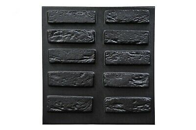Reclaimed Bricks Tudor Plastic Mold Concrete Gypsum Plaster Wall Decoration Tile