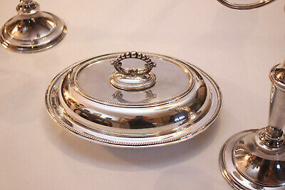 A Superb Quality Edwardian Silver Plate Metamorphic Tureen