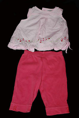Next, Baby Girl, Summer, Party, Outfit, Leggings, Top, 3-6 months