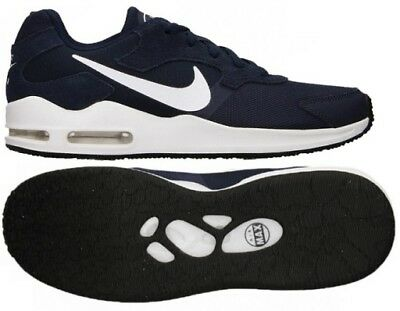 huge discount 53c53 30ee9 Hommes Nike Air Max Guile Baskets Daim Bleu Marine Blanc UK 7 - 8 - 8.5