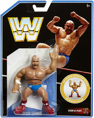 WWE Mattel Iron Sheik Retro Figure Series 8