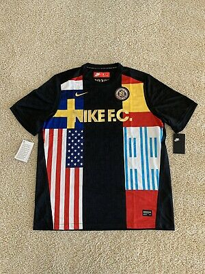 f74a2482c39 BRAND NEW WITH TAGS Nike F.C. Training Jersey World Cup Soccer 886872-011
