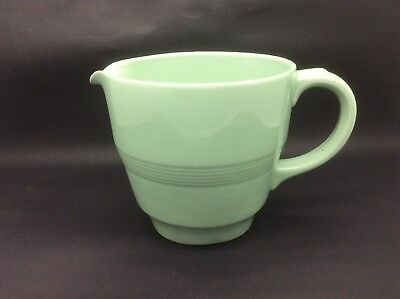 Vintage Woods Ware Beryl / Green Utility Large Milk or Custard Jug
