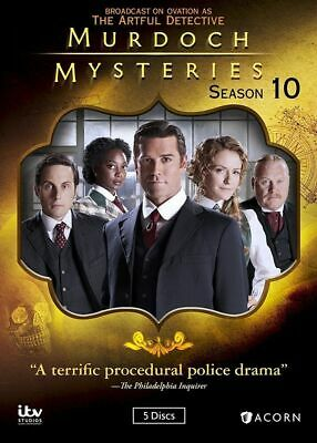 Murdoch Mysteries: Season 10 (DVD, 2017, 5-Disc Set, Widescreen)