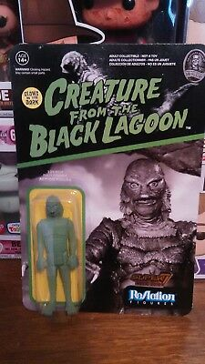 Funko ReAction! Creature From the Black Lagoon GITD!  NYCC Excl.! Unpunched!