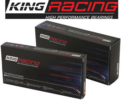 "King Rod Bearings HP-Series .001/"" Under Alecular Silicon Chevy SB SetOf8"
