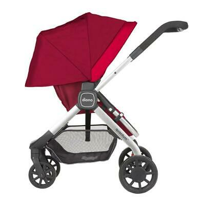 Diono Quantum Baby Stroller - 3 Colours available - Black/Red/Teal - BNIB