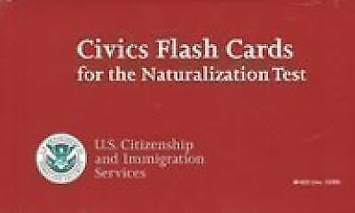 Civics Flash Cards for the Naturalization Test (December 2009)