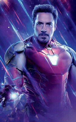 Avengers Endgame Movie Ironman Ad Art Print Poster
