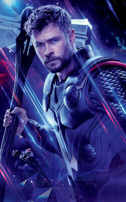 Avengers Endgame Movie Thor Ad Art Print Poster
