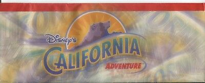 Disney's California Adventure Opening Packet Feb 17 2001 Tickets Map Envelope +