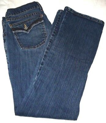 5bf838fb26a63 LUCKY BRAND JEANS Lil Maggie Maternity Jeans Blue Denim Pants Womens ...