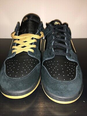 low priced 896da c80d3 2006 Nike Dunk Low 6.0, Blk gold Men s Sz.14