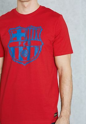8768aba54 NIKE FC BARCELONA Crest tee in 100% cotton - adult small - EUR 17