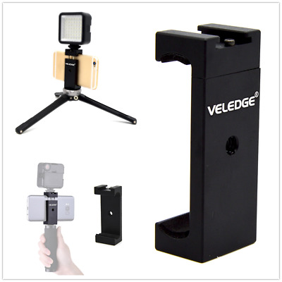 UK Ajustable Cell Phone Clip Tripod Mount Adapter for Smartphone iPhone Samsung
