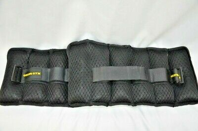 Golds Gym 10 lbs Pair Adjustable Ankle Weights Fitness Increase Stamina NEW Open