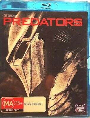 Predators Bluray 2 Disc Set Region B Free Post In Australia