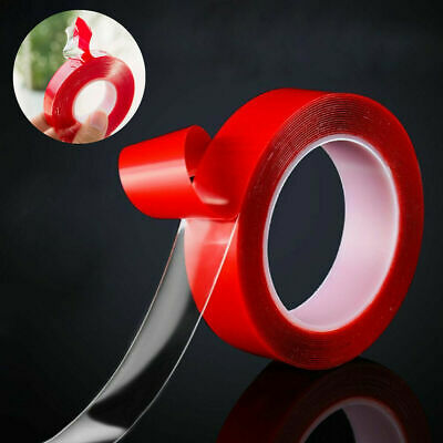 10m Double Sided Super Sticky Heavy Duty Adhesive Tape Red For Cell Phone Repair