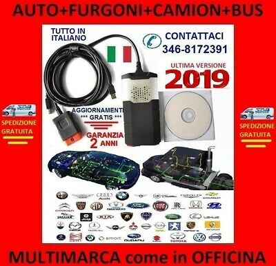 ✅✅ Diagnosi Autodiagnosi Multimarca Universale Obd Diagnostica Auto Camion Bus ✅