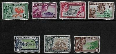 Pitcairn Island 1940 KGVI  Pictorials - SS with values to 2/6d  -  MH