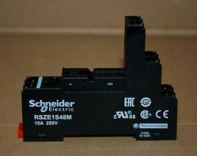 Schneider - Relay Socket 12A 300V - Rsze1S48M - Free Delivery - A4/7/B