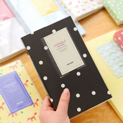 84 Pockets Album Storage Book For Fujifilm Polaroid Mini photo New