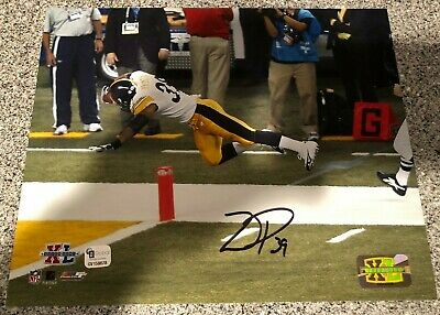 b2e9285c Willie Parker Signed 10x8 Photo Pittsburgh Steelers Super Bowl XL Autograph  COA