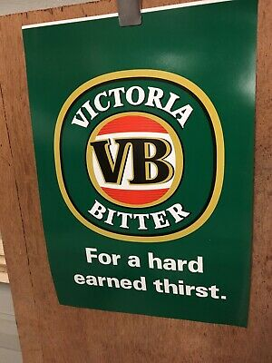 Victoria Bitter For A Hard Earned Thirst Bunting Flag