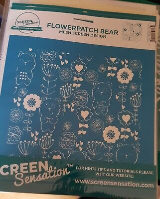 Screen sensations screen Flowerparch Bear - Free UK p&p