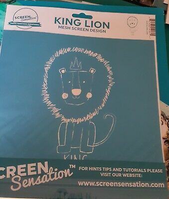 Screen sensations screen King Lion - Free UK p&p