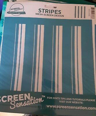 Screen sensations screen Stripes - Free UK p&p