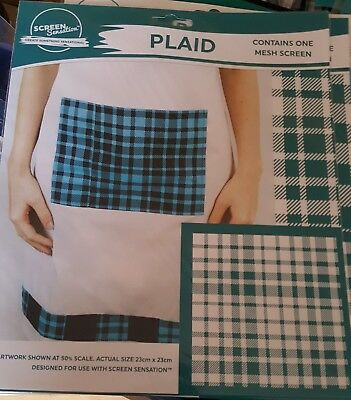 Screen sensations screen Plaid - Free UK p&p
