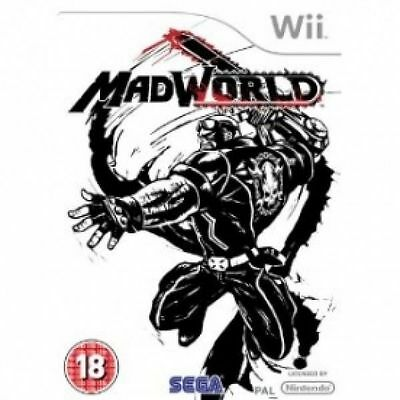 Madworld Action Game for Nintendo Wii & Wii U VGC